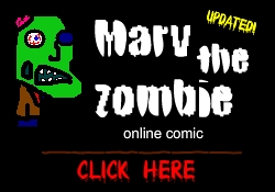 Marv The Zombie Comic!